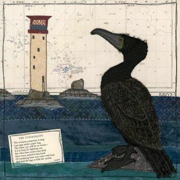 Hannah Wisdom Eddystone Cormorant Card