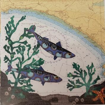 Hannah Wisdom Whitsand Mackerel Card