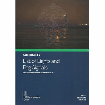 Admiralty NP86 List of Lights and Fog Signals: Volume N
