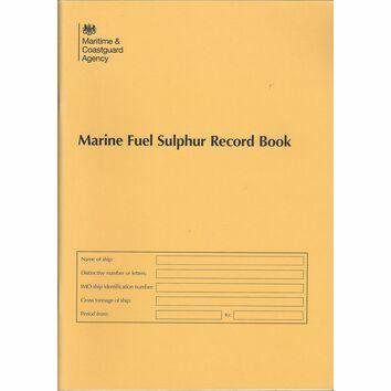 MCA Marine Fuel Sulphur Record Book