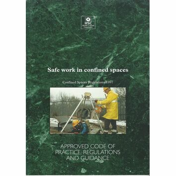 HSC Safe Work in Confined Spaces (Regs 1997)