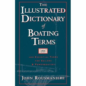 The Illustrated Dictionary of Boating Terms (Marks on Cover)