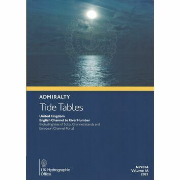 Admiralty NP201A Tide Tables 2021 UK: English Channel to River Humber