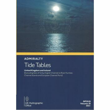 Admiralty NP201B Tide Tables 2021: UK & Ireland