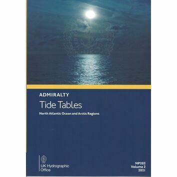Admiralty NP202 Tide Tables 2021: North Atlantic Ocean and Arctic Regions