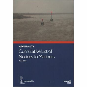 Admiralty NP234(B) Cumulative List of Notices to Mariners: June 2020