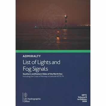 Admiralty NP75 List of Lights and Fog Signals: Volume B