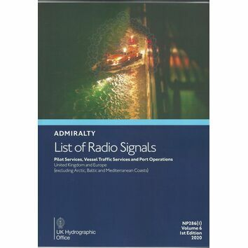 Admiralty NP286(1) List of Radio Signals Vol 6 1st edition