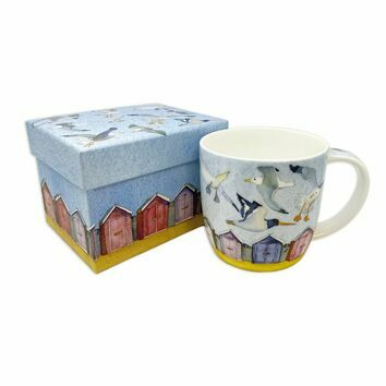 Emma Ball Flying Seabirds Bone China Mug with Gift Box