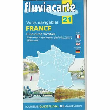 Imray Fluviacarte 21 France