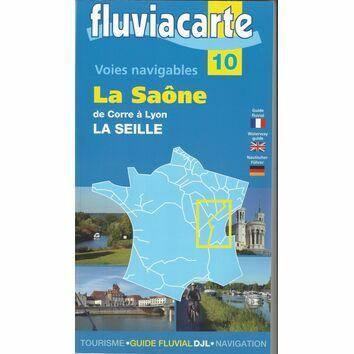 Imray Fluviacarte Guide 10 - La Saône de Corre á Lyon - La Seille