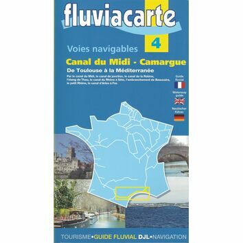 Imray Fluviacarte 4 Canal Du Midi - Camargue