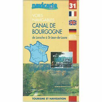 Imray Navicarte 31 Canal de Bourgogne