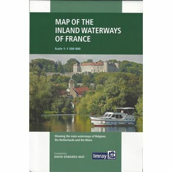 Imray Map of the Inland Waterways of France