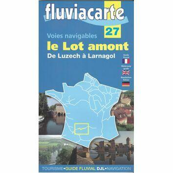 Imray Fluviacarte 27 - Le Lot Amont