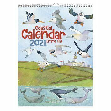 Emma Ball 2021 Coastal Calendar