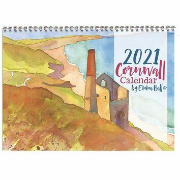 Emma Ball 2021 Cornwall Calendar