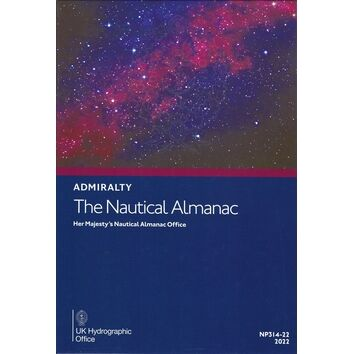 Admiralty NP314-22 The Nautical Almanac 2022