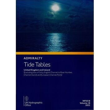 Admiralty NP201B Tide Tables 2022: UK & Ireland