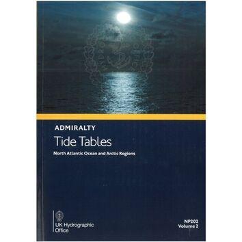 NP202-22 ADMIRALTY NP202 TIDE TABLES: NORTH ATLANTIC OCEAN AND ARCTIC REGIONS (VOLUME 2)