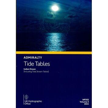 NP203-22 Admrialty Tide Tables Indian Ocean