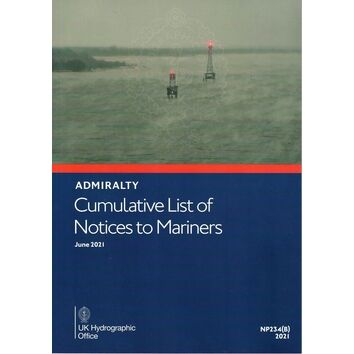 NP234(B) Cumulative List of Notices to Mariners June 2021