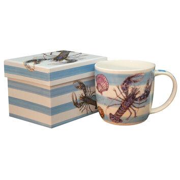 Emma Ball Lobsters Bone China Mug