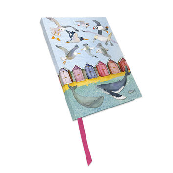 Emma Ball Sealife Ruled & Bound Notebook - 160 Pages