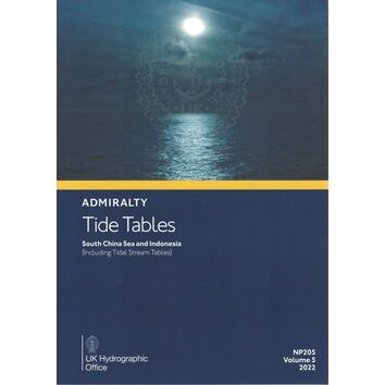 Admiralty NP205 Tide Tables South China Sea and Indonesia 2022