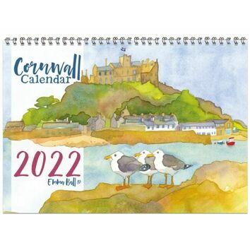 Emma Ball 2022 Cornwall Calendar