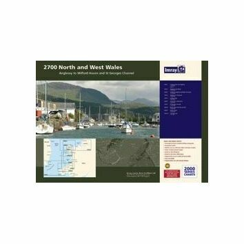 Imray 2700 North and West Wales Chart Atlas