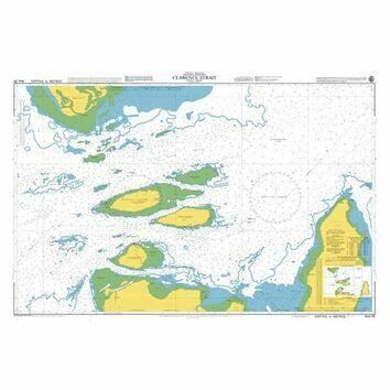 AUS20 Clarence Strait Admiralty Chart