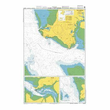 AUS28 Plans in Port Darwin Admiralty Chart