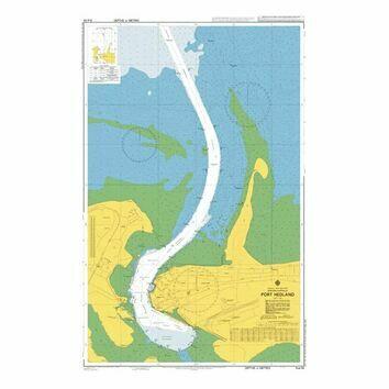 AUS54 Port Hedland Admiralty Chart