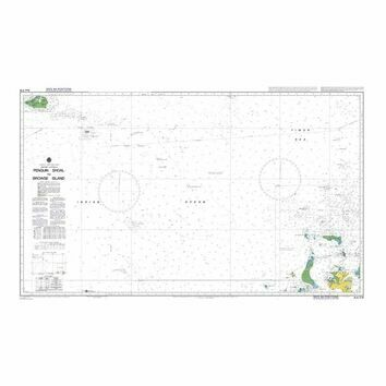 AUS319 Penguin Shoal to Browse Island Admiralty Chart