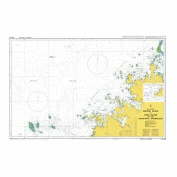 AUS320 Browse Island to Adele Island including Bonaparte Archipelago Admiralty Chart
