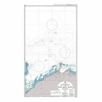 AUS327 Port Walcott to Monte Bello Islands Admiralty Chart