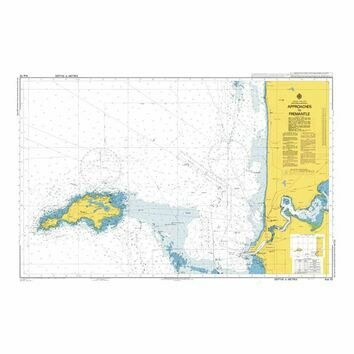 AUS112 Approaches to Fremantle Admiralty Chart