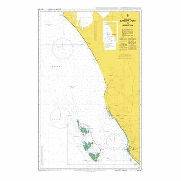 AUS332 Zuytdorp Point to Geraldton Admiralty Chart