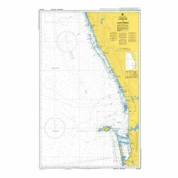 AUS754 Lancelin to Cape Peron Admiralty Chart