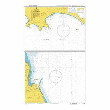 AUS140 Approaches to Portland Admiralty Chart