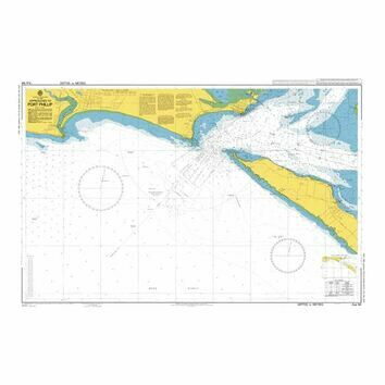AUS144 Approaches to Port Phillip Admiralty Chart