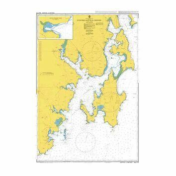 AUS173 D\'Entrecasteaux Channel Admiralty Chart
