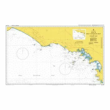 AUS341 Head of Great Australian Bight to Streaky Bay Admiralty Chart