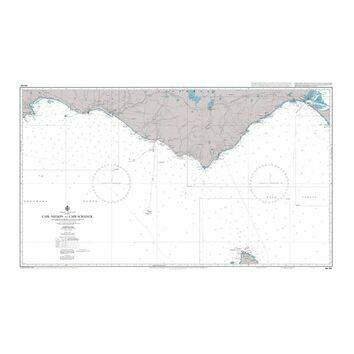 AUS349 Cape Nelson to Cape Schanck Admiralty Chart