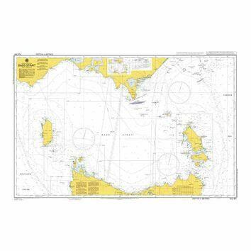 AUS487 Bass Strait Admiralty Chart