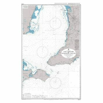 AUS780 Port Adelaide to Backstairs Passage Admiralty Chart