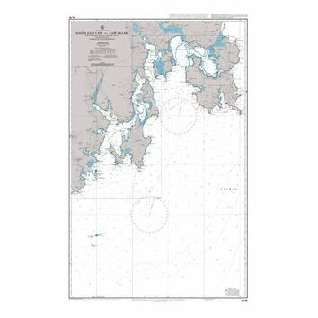 AUS795 South East Cape to Cape Pillar Admiralty Chart