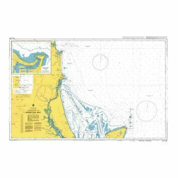 AUS235 Approaches to Moreton Bay Admiralty Chart