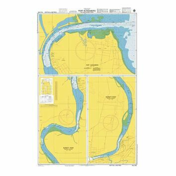 AUS242 Port Bundaberg including Burnett River Admiralty Chart